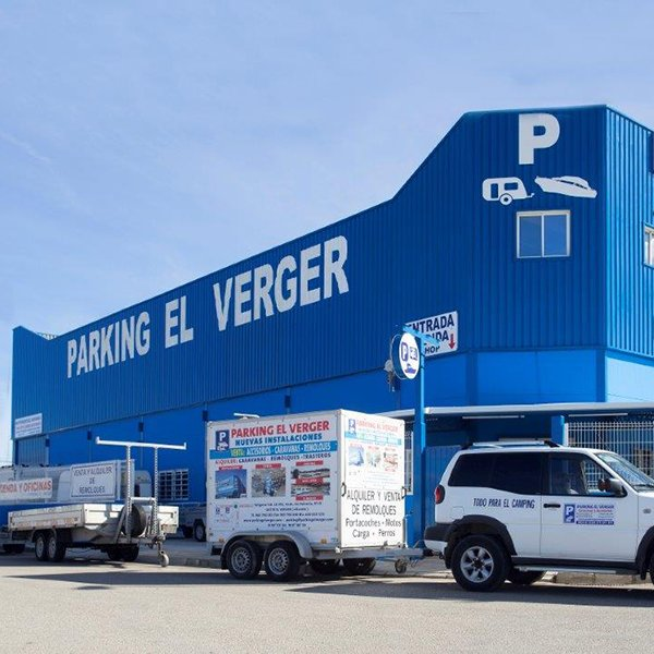 Parking el verger exterior